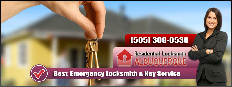 Residential Locksmith Albuquerque Banner